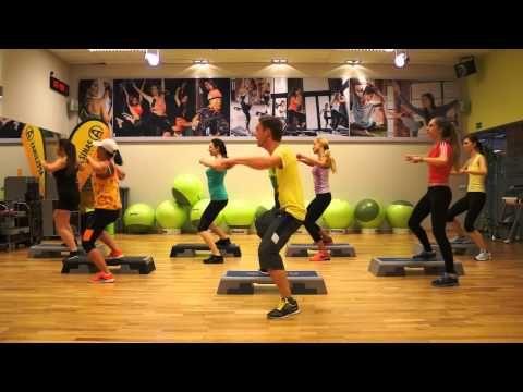 ▶ ZUMBA STEP from ZIN 50 - Donde Estes Llegare ( Reggaeton ) - YouTube