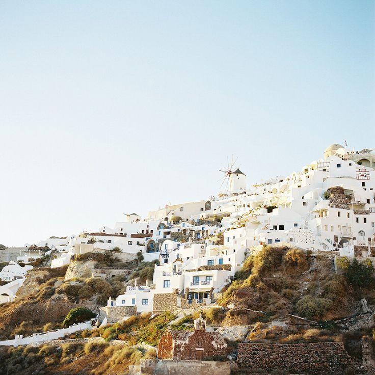views of oia,santorini,greece