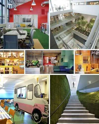 17 Inspirational & Outrageously Cool Office Interiors|Cartridge Save Blog