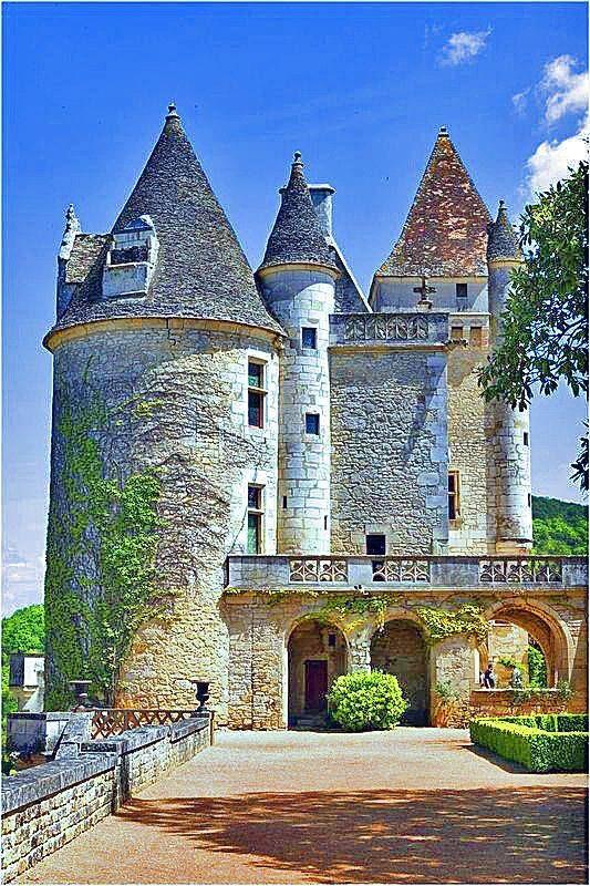 Château de Milandes, Dordogne, France - construit en 1489