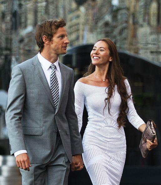 Jessica Michibata & Jenson Button