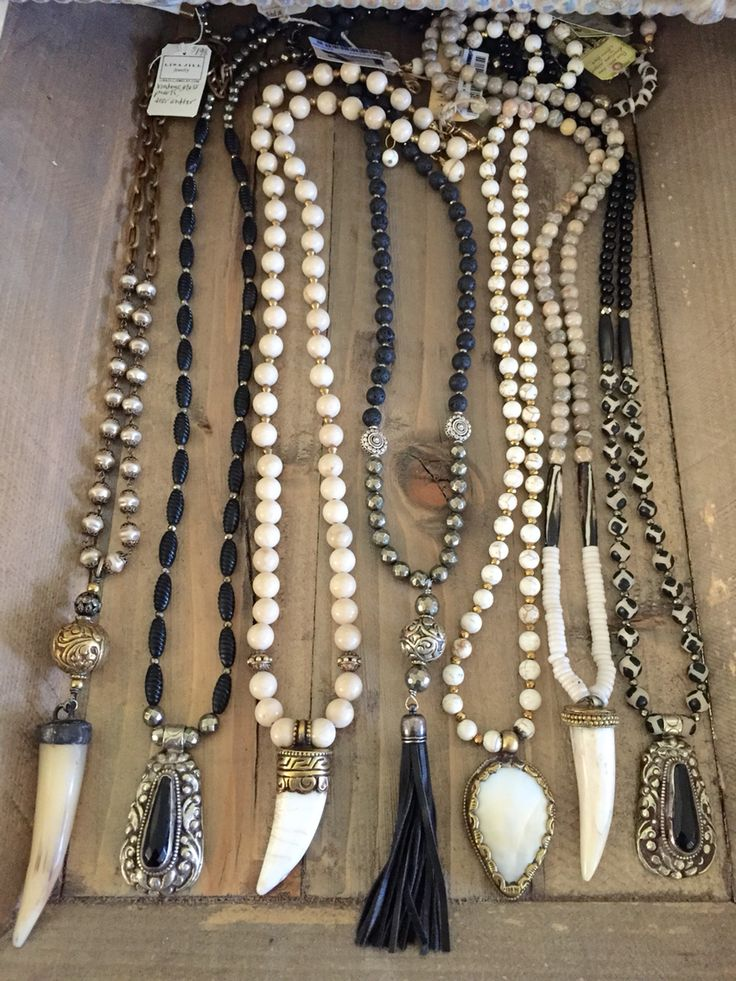 Beaded boho necklaces. Contact lisajilljewelry@gmail.com to purchase.