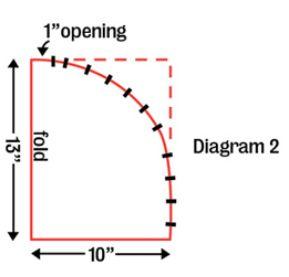 Turban pattern, diagram 2
