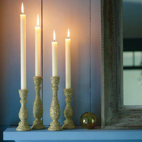 18 coole DIY Weihnachtskerzenhalter   Kerzen helfen beim Erstellen eines ersten Mal …   – DIY Dekor