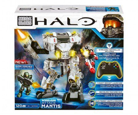 Mega bloks Halo - UNSC Wireless Attack Mantis (97450) #speelgoed #megabloks #halo #attackmantis