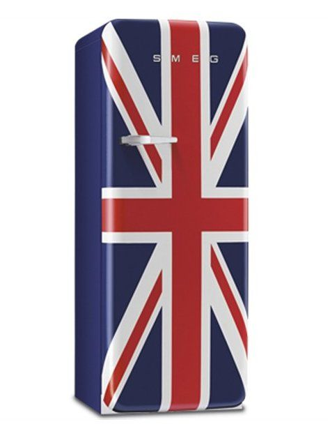 Refrigerator SMEG 50'S STYLE by Smeg #kitchen #design #UnionJack
