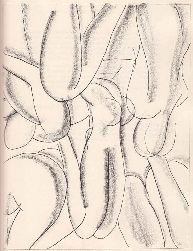 """Henri Matisse/etching for James Joyce's """"Ulysses""""(1935) book includes six original copperplate etchings and 20 photogravure reproductions of studies for the etchings"""