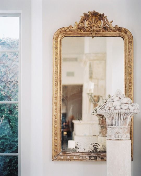 115 best images about Ornate gold mirrors on Pinterest Mirror