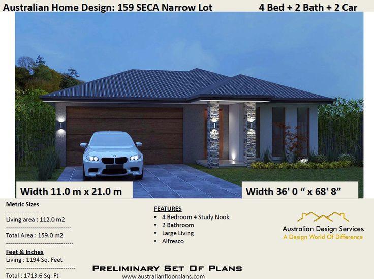 81 best 2018 4 bedroom house plans images on pinterest 159m2 or 1713 sqot 4 bedroom concept blueprints for sale concept architectural malvernweather Images