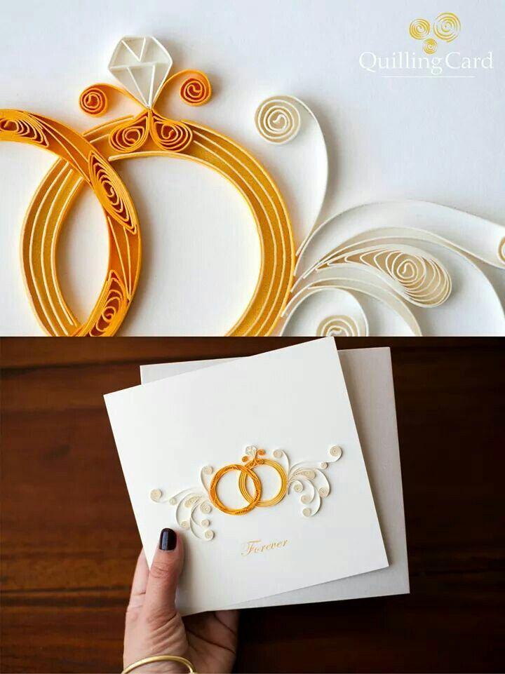 Про, поделки открытка на свадьбу