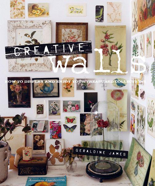 Creative Walls by James, Geraldine 9781907563157 | Books | Hardie Grant Gift