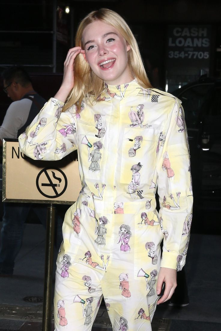 Elle Fanning promoting her new animated movie Leap! on Today show.- 全米公開中のアニメ映画「リープ」の声のヒロインとして、本日はテレビ出演の早起きエルたん - 映画 エンタメ セレブ & テレビ の 情報 ニュース from CIA Movie News / CIA こちら映画中央情報局です
