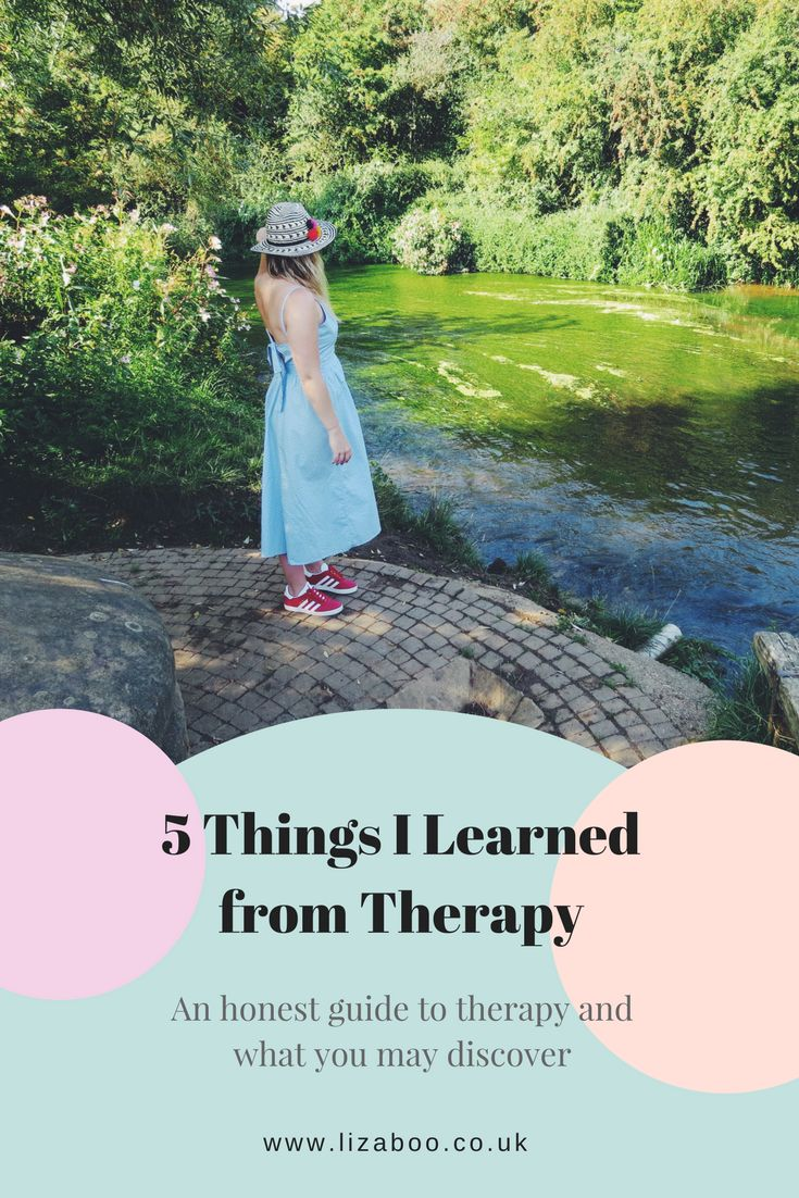 5 Things I Learned from Therapy. Whether you're suffering with mental health or going through a life changing experience, you may find therapy can help you discover far more about yourself.