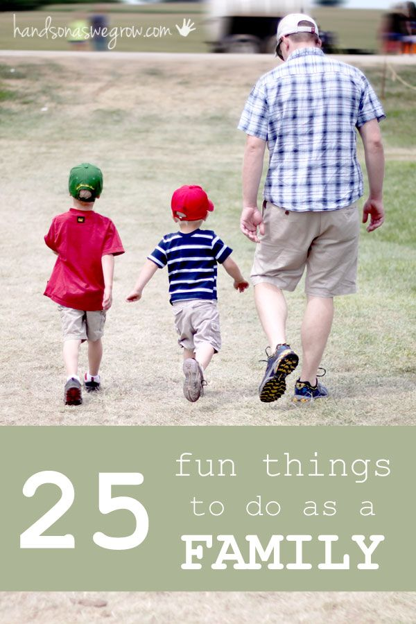 Lots of fun family activities for spending time together.