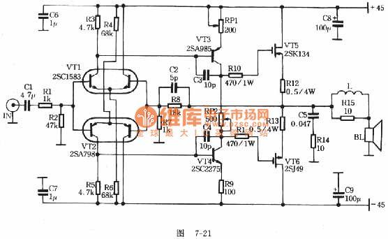 Image result for high power amplifier circuit (Dengan gambar)