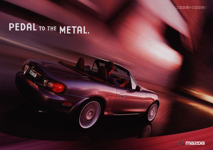https://flic.kr/p/G4kQBi | Mazda MX-5 Titanium; 2002 (Australia) | front cover car brochure by worldtravellib World Travel library