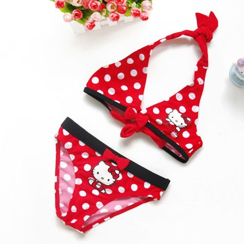 Girls Hello Kitty bikini swim suit $8.24 from Aliexpress