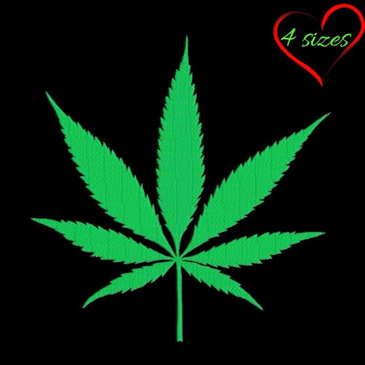 Cannabis embroidery machine design marijuana pattern instant digital download pes file in the hoop towel designs by SvgEmbroideryDesign on Etsy