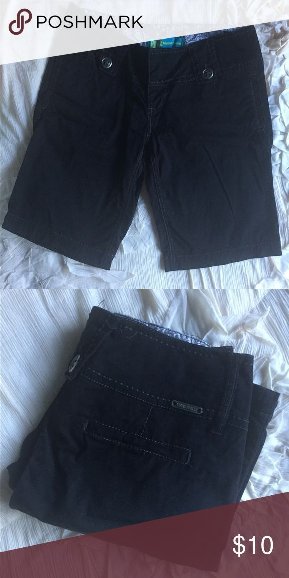 Black Bermuda shorts Black Bermuda shorts Modest shorts Tyte Jeans Shorts