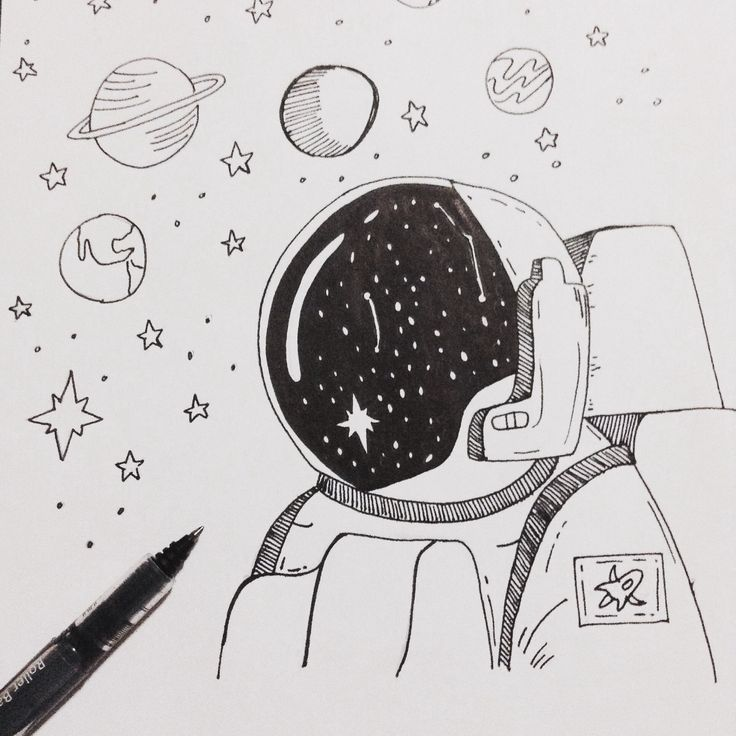 Astronaut drawing, find it in Instagram : natalia257uc N A T A L I A 💕