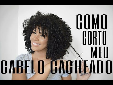 COMO CORTO O MEU CABELO CACHEADO EM CASA | MARIJANE MENDES - YouTube