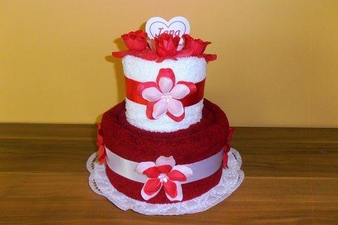 Soutěž o Ručníkový dort v hodnotě 450,- Kč
