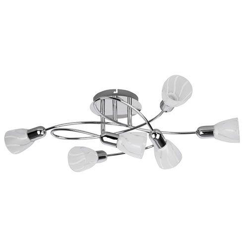Raba-Lux - Flaire 6 ágú mennyezeti lámpa - 6059