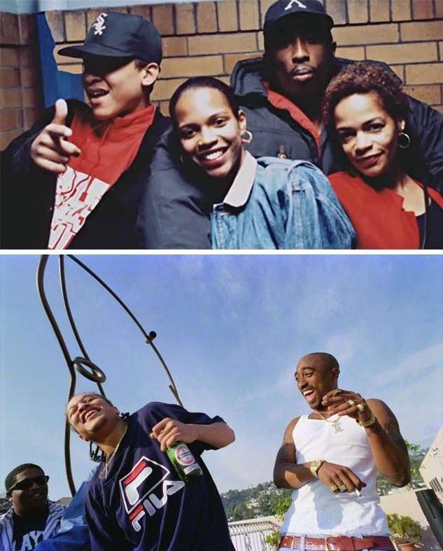 Tupac Shakur & Yaki Kadafi