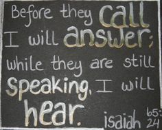 Image result for isaiah 65:24 images