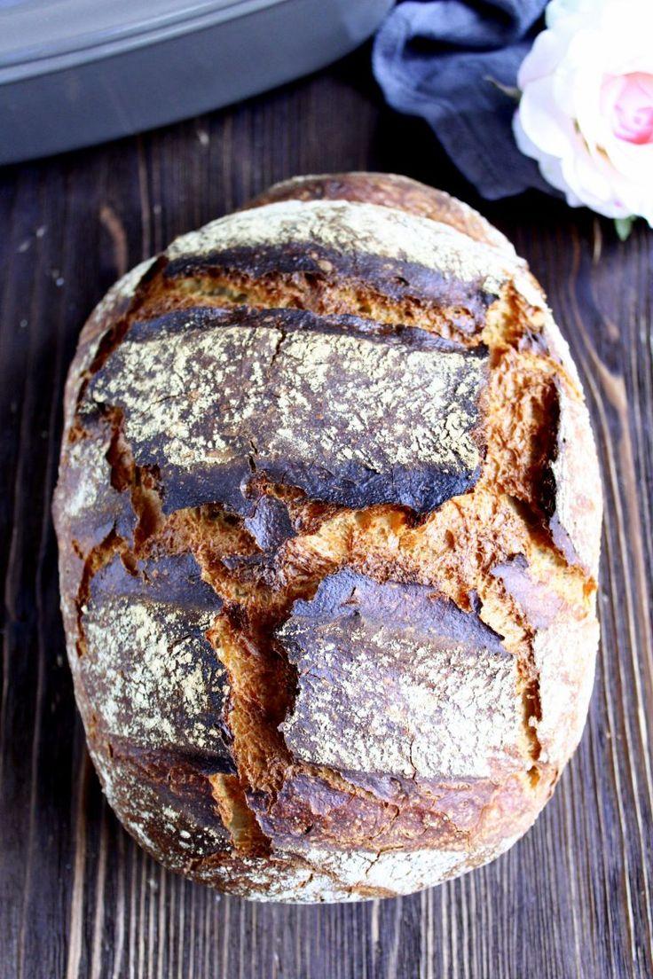 Guten Morgen Ihr Lieben ❤️ Max ist wirklich ein Kracher-Brot, wie man sehen kann 😍 Wir sind begeistert, so ein knuspriges , aromatisches und innen fluffiges Brot gebacken zu haben. Ein leckerer Br…