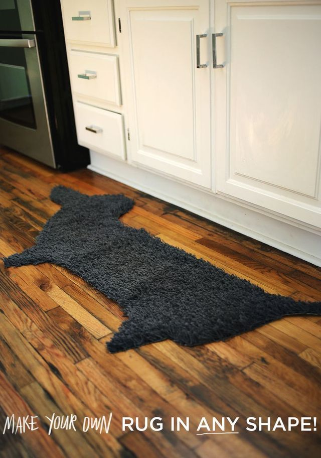 Make your own rug in any shape