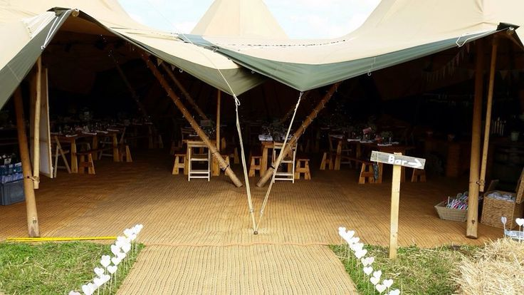 All about me Tipi. Wedding reception. Decoration. Teepee. Rustic. Field. Entrance. Hearts