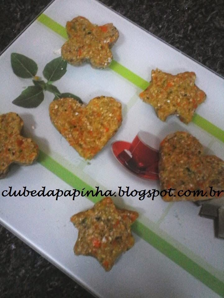 Clube da Papinha: Nuggets de frango caseiro