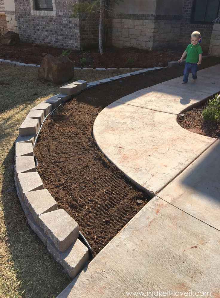 how to landscape hardscape a front yard from our experience