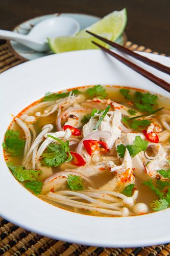 Tom Yum Gai (Thai Hot and Sour Chicken Soup) | Closet  Cooking