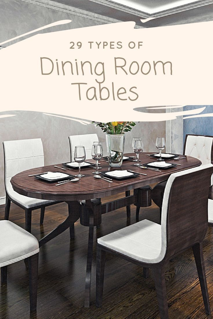 38 Types Of Dining Room Tables Extensive Buying Guide Oval