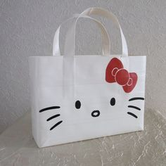 Hello Kitty duct tape bag.  I'm off to buy white duck tape brand duct tape.