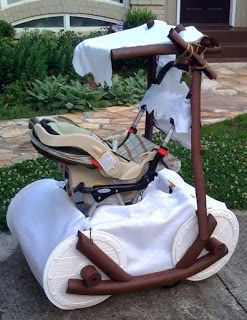 furniture {reincarnated}: Stroller {reincarnated}: Flintstone Car!