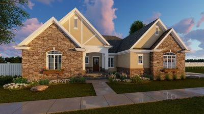 Plan 62536DJ: Expansive And Open Living Area