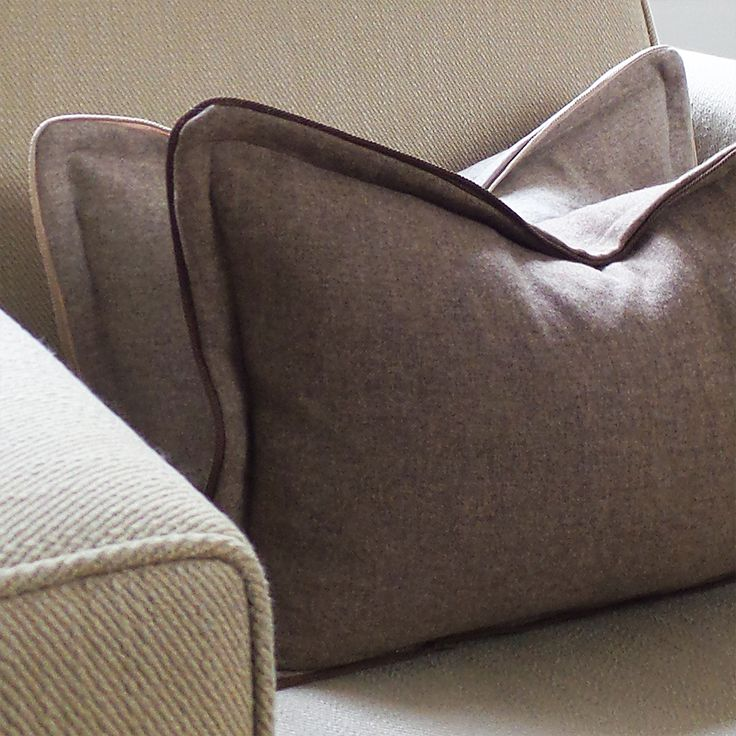 Lux cashmere in Oatmeal and Cognac mix. http://parkblvd.ca/collections/living/products/lux-cashmere-1