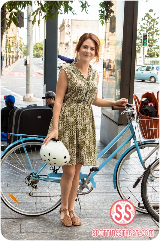SPOTTED:  Baby Blue Bicycle Click the photo to see Brisbanes favorite fashion blog!!