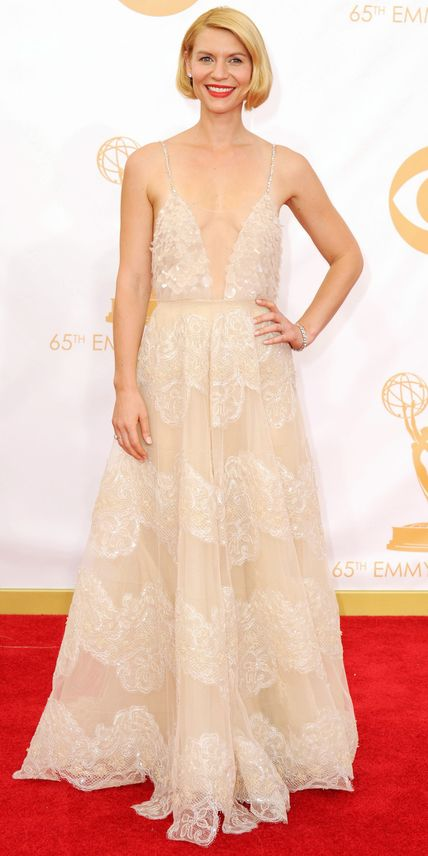 Claire Danes's Best Red Carpet Looks Ever - In Armani Prive, 2013 from #InStyle