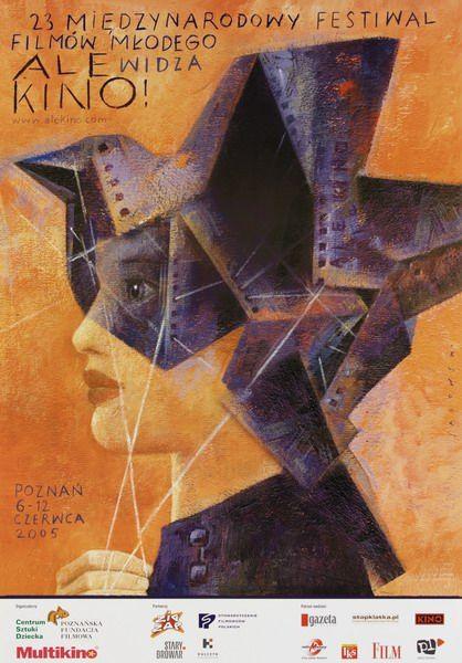 International Film Festival Ale kino, 23-ty Sadowski Wiktor Polish Poster