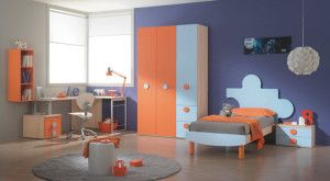 Elegant 9 Blue Orange Bedroom Ideas