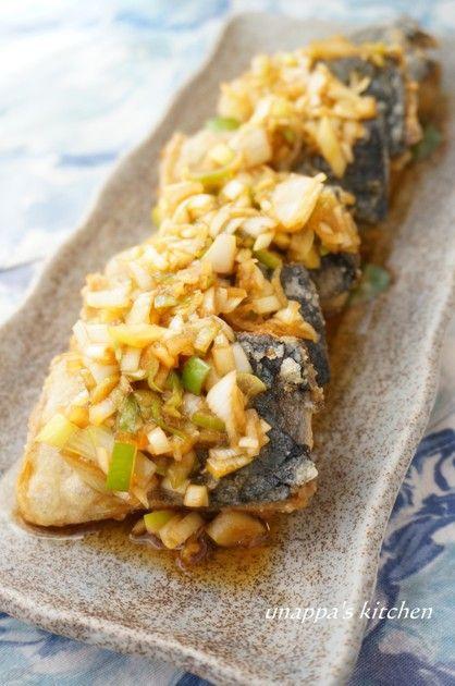 ネギたっぷり鯖(塩鯖)の南蛮漬け by unappa [クックパッド] 簡単おいしいみんなのレシピが216万品