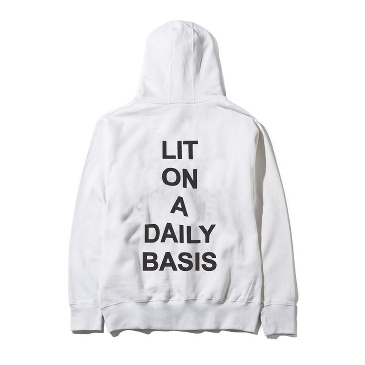 Image of Lit On A Daily Basis- White