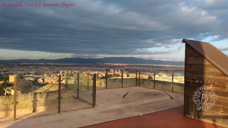 www.hotelbjvittoria.it #cagliari #italy #sardinia #view #city #monument #beautiful #torre#tower #sunset #love #romantic #