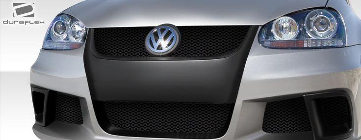 2005-2010 Volkswagen Jetta Duraflex R-GT Wide Body Grille - 1 Piece