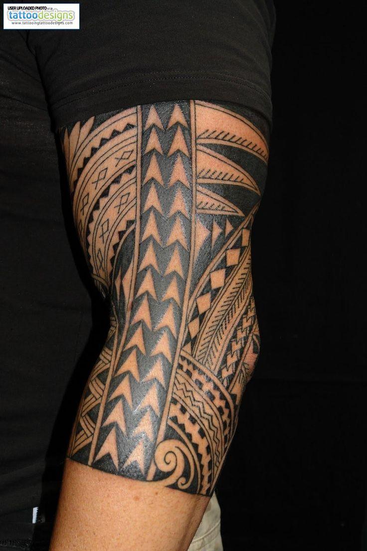 Beautiful polynesian ink work! Next tat similar to this design & half sleeve as well.