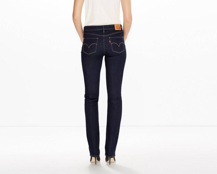 Stil trifft auf Shaping der nächsten Generation. Sorgt für eine schlanke, weiche Silhouette. Straight Leg: Diese Jeans mit Mid Rise formt deine Figur mit Slimming-Technologie. Der Extra-Stretch sorgt dafür, dass du es stets bequem hast. Dank maximaler Formstabilität trägst du diese Jeans sehr lange.